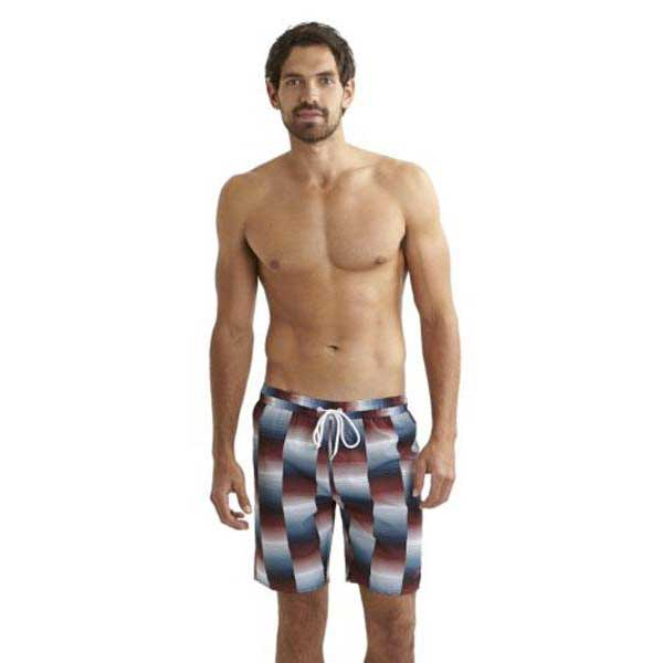 Speedo Printed Check Leisure 18 Watershort Print 8