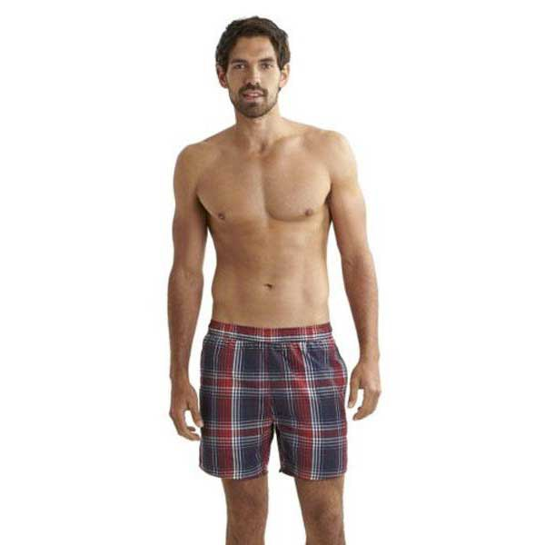 Speedo Yarn Dyed Check Leisure 16 Watershort