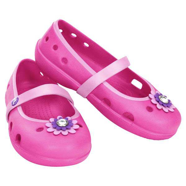 Crocs Keeley Petal Charm Flat Ps