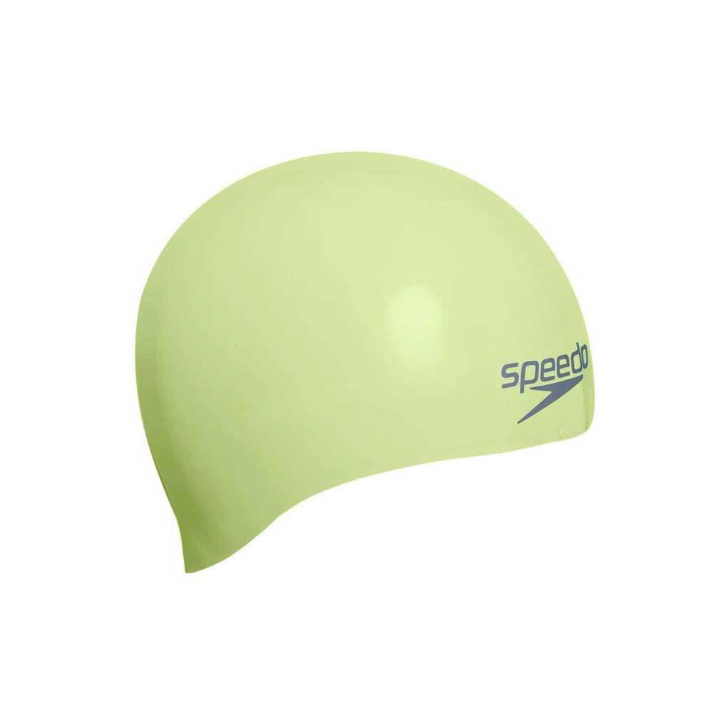 Speedo Plain Moulded Silicone Cap Junior 816f510411307