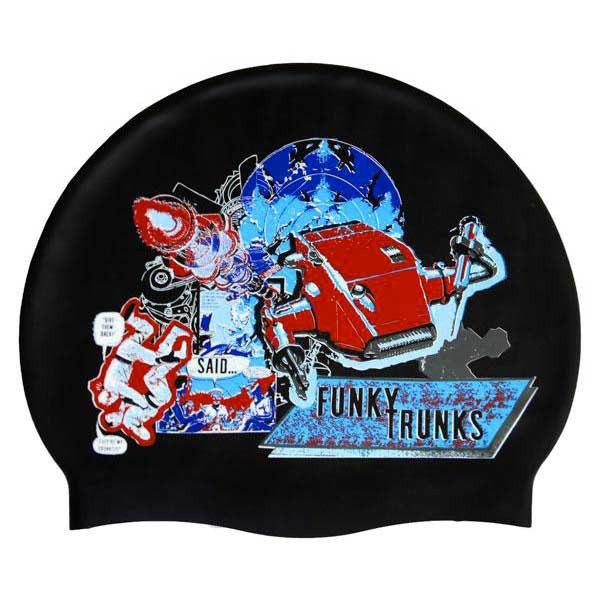 Funky trunks Battle Galactic Cap Black buy and offers on Swiminn eda4c857531