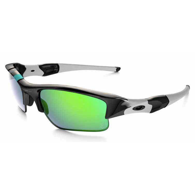 Oakley Flak Jacket XLJ Polished Black Jade Iridium, Swiminn Óculos ... fd62c4307d