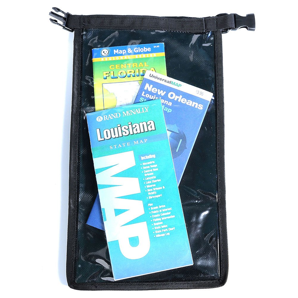 Best divers Flat Dry Bag 1L Transparent