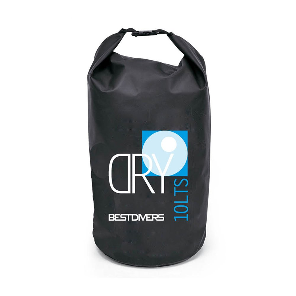 Best divers PVC Dry Bag 10L Black