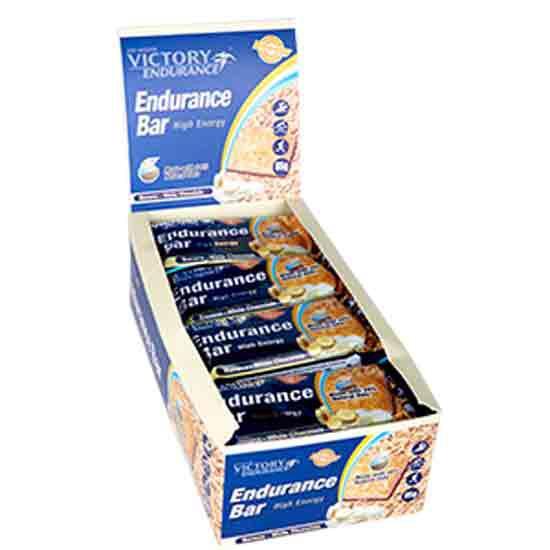 Victory Endurance Endurance Bar 85gr X 12 Pl?tano-chocolate Blancocolate