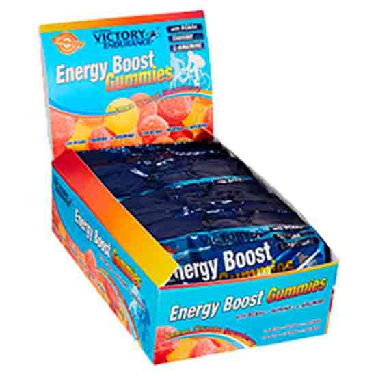 Weider Victory Endurance Energy Boost Gummies 12 x 64 g Cola