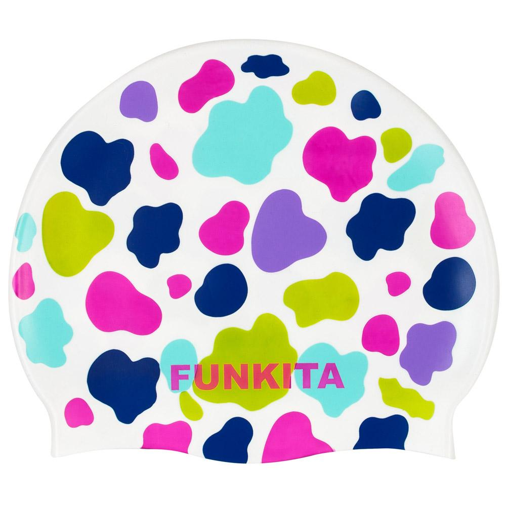 Funkita Lolly Moo Silicone Swimming Cap