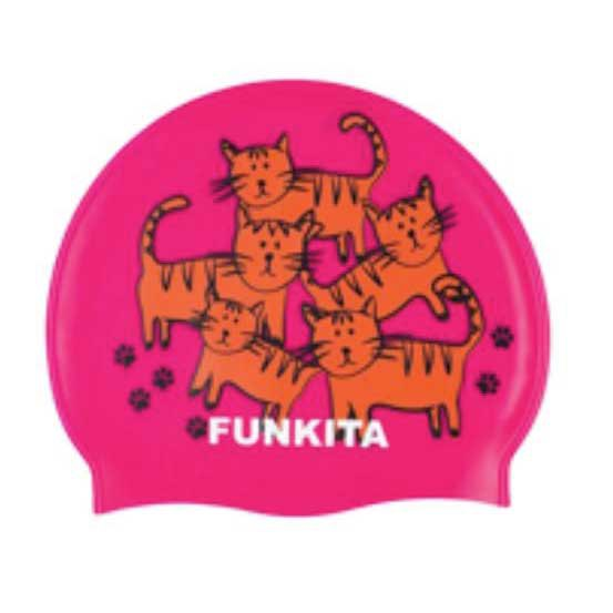 Funkita Urban Kitty Silicone Swimming Cap
