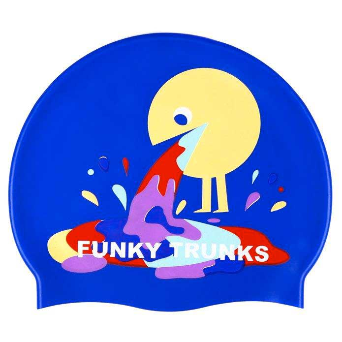 Gorros de nataci?n Funky-trunks Hurley Silicone Swimming Cap