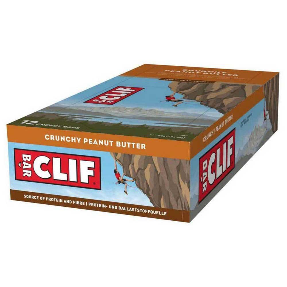 Clif Energy Bar Oats/Cacahuete Butter Caja 12 Unidades