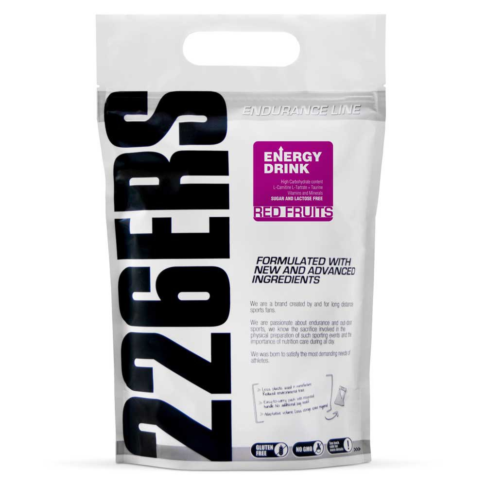 Suplementaci?n deportiva 226ers Energy Red Fruits 1kg