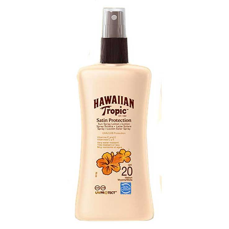 Hawaiian tropic fragrances Satin Sun Lotion 200ml