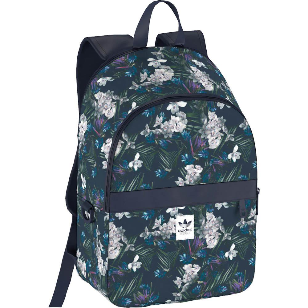 floral adidas bag