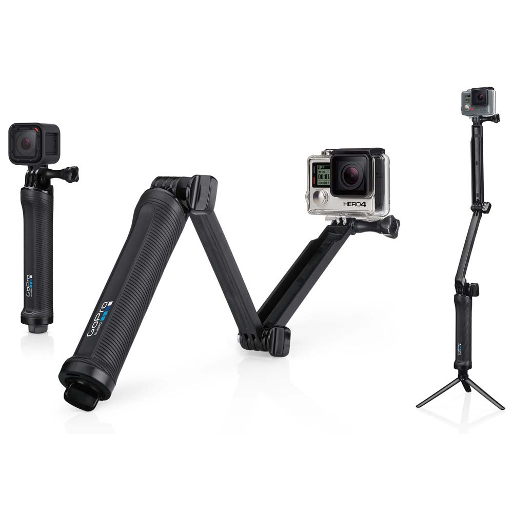 3 Way: Camera Grip. Extension Arm Or Tripod