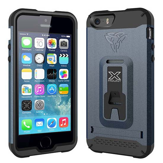 Armor-x-cases Rugged Case For Iphone 5c With X Mount Black