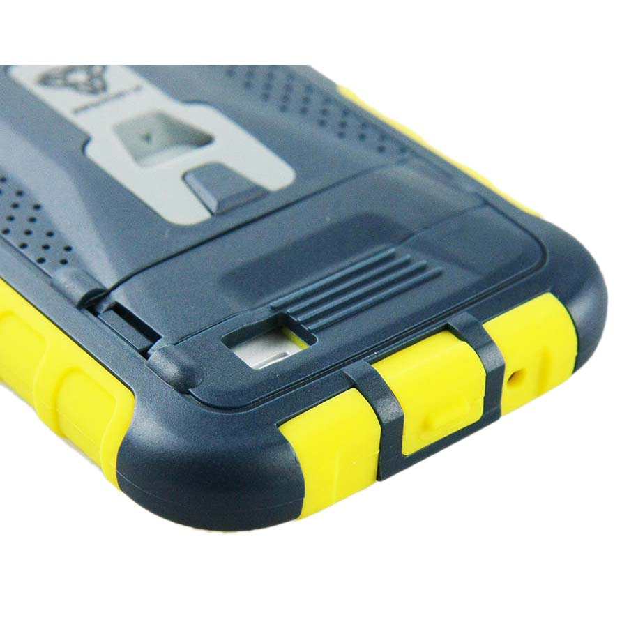 Armor X Cases Rugged Case Kickstand Clip For Samsung Galaxy S4 Black