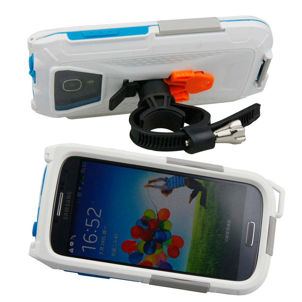 Armor-x-cases All Weather Bike Mount For Samsung S3 / S4 White