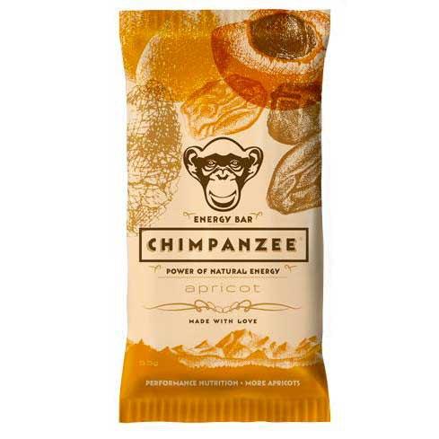 Chimpanzee Energy Bar Apricot 55gr Caja 20 Unidades
