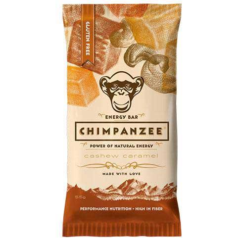 Chimpanzee Energy Bar Cashew Caramelo 55gr Caja 20 Unidades