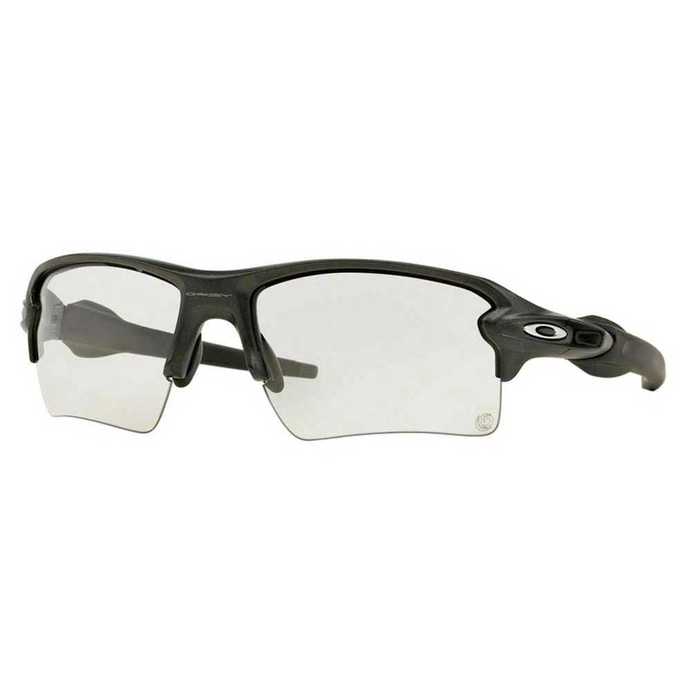 Gafas Oakley Flak 2.0 Xl Steel W/ Clear To Photochromic