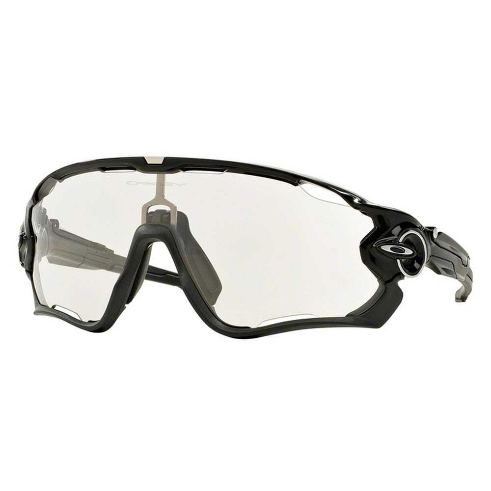 Gafas Oakley Jawbreaker Polished Black W/ Clear To Photochromic