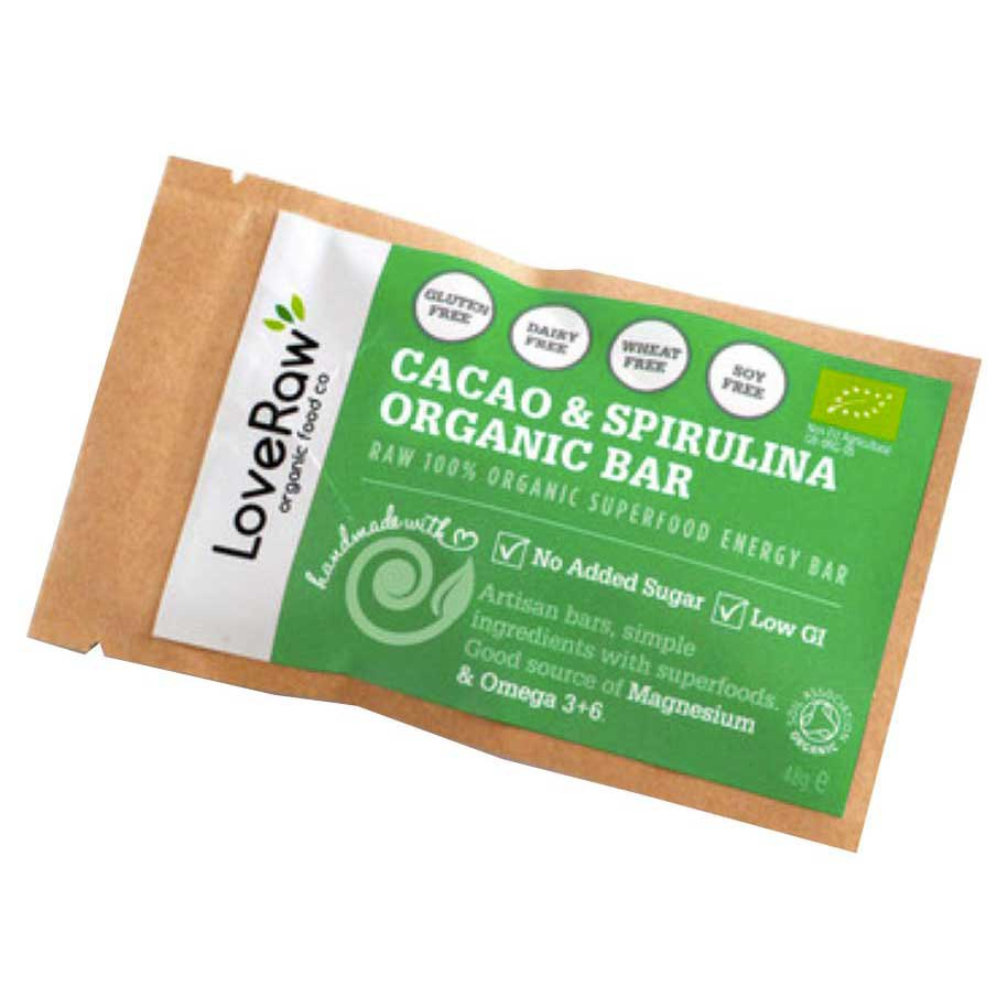Loveraw Bar Cocoa And Spirulina 48 g