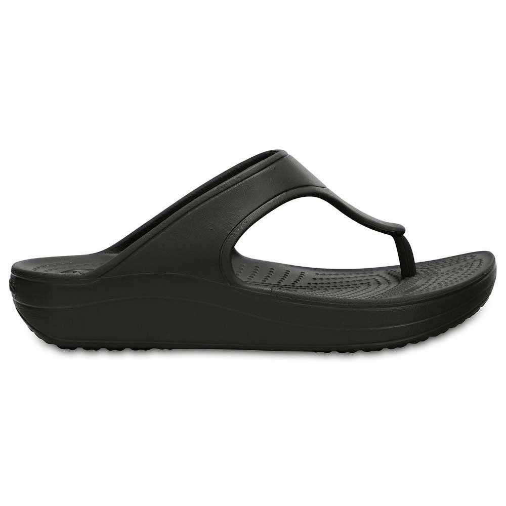 bb21bfae6c251b Crocs Sloane Platform Flip Black buy and offers on Swiminn