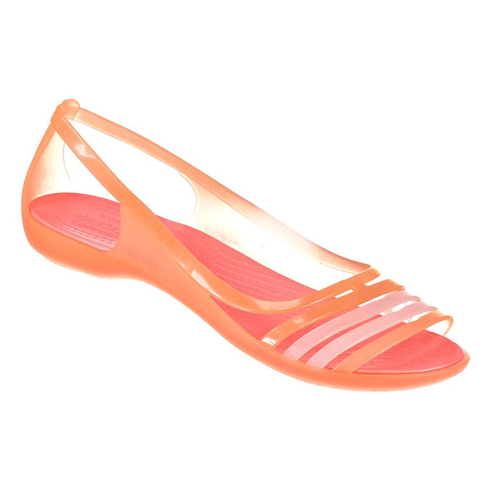 e97a18fafd0 Crocs Isabella Flat Sandal Orange buy and offers on Swiminn