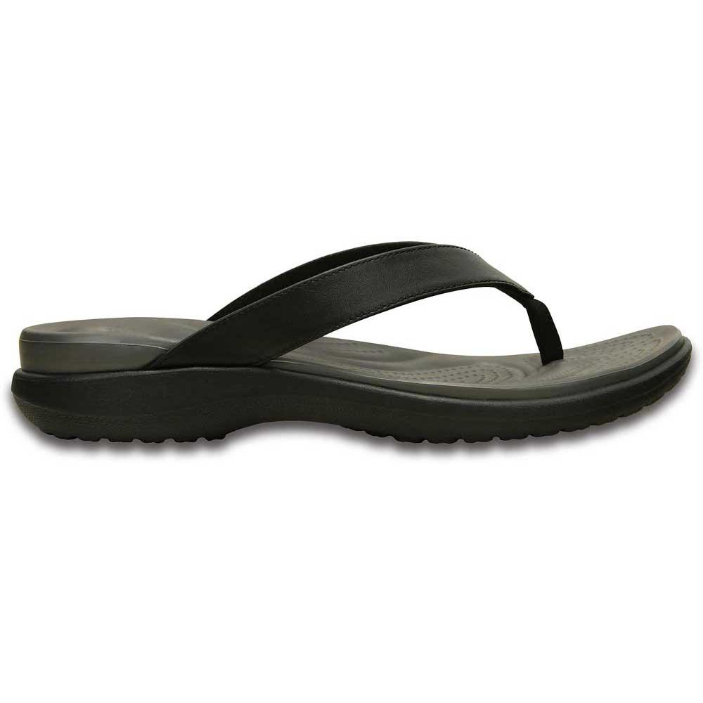 ed2991f3dde Crocs Capri V Flip Black buy and offers on Swiminn