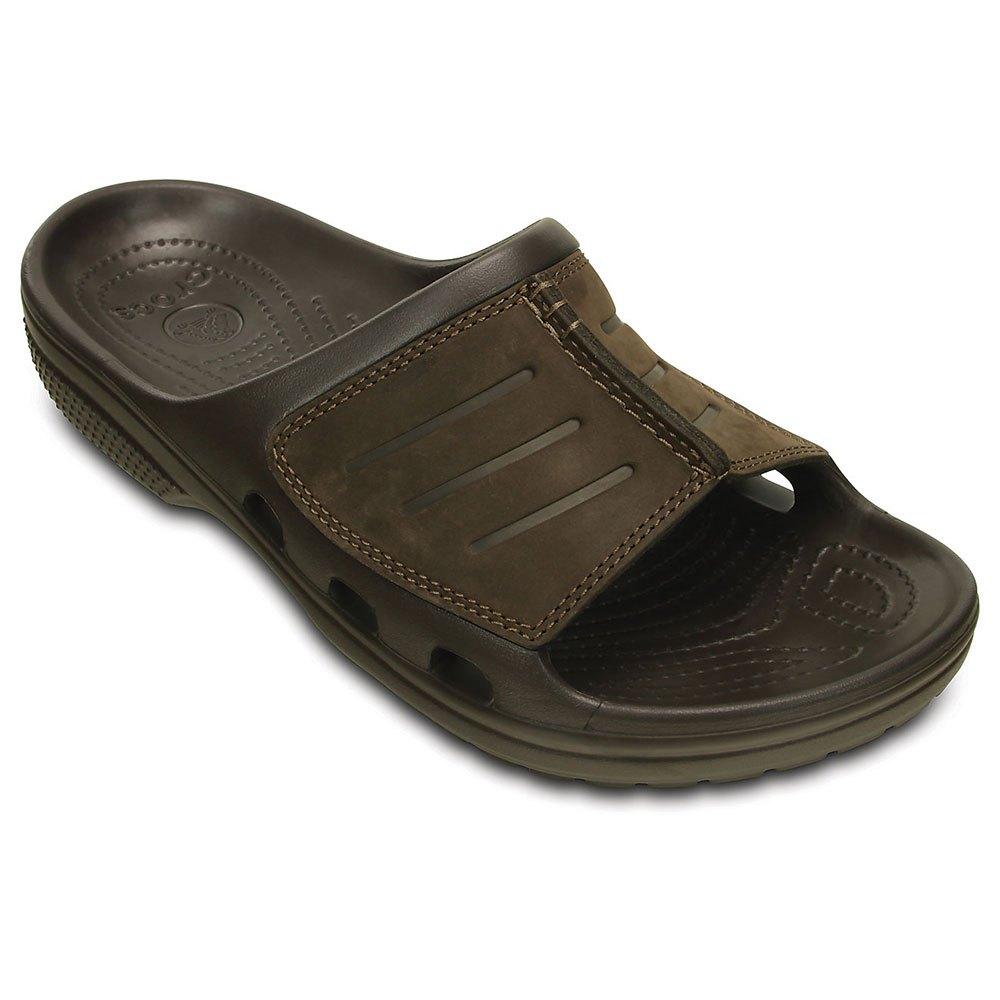 39dd1fd13 Crocs Yukon Mesa Slide Brown buy and offers on Swiminn