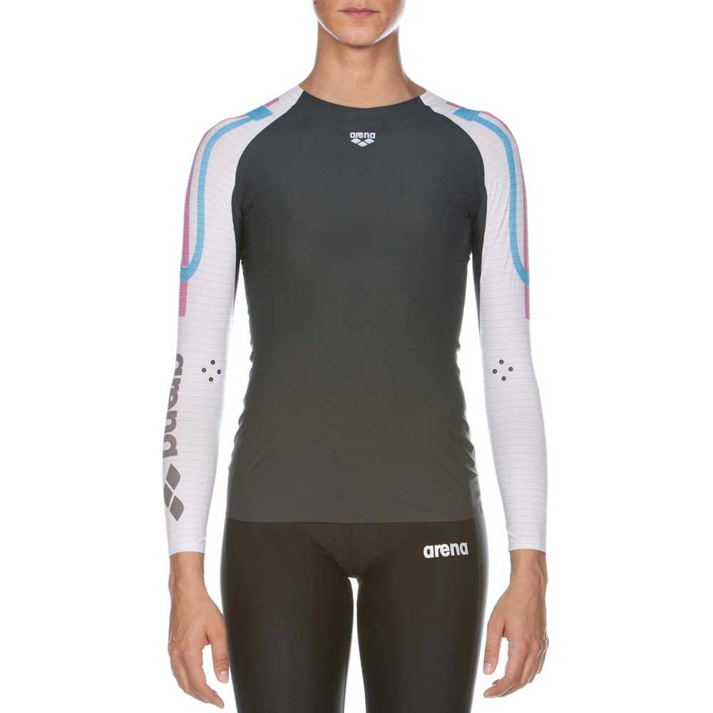 Arena Carbon Compression LS T Shirt Woman