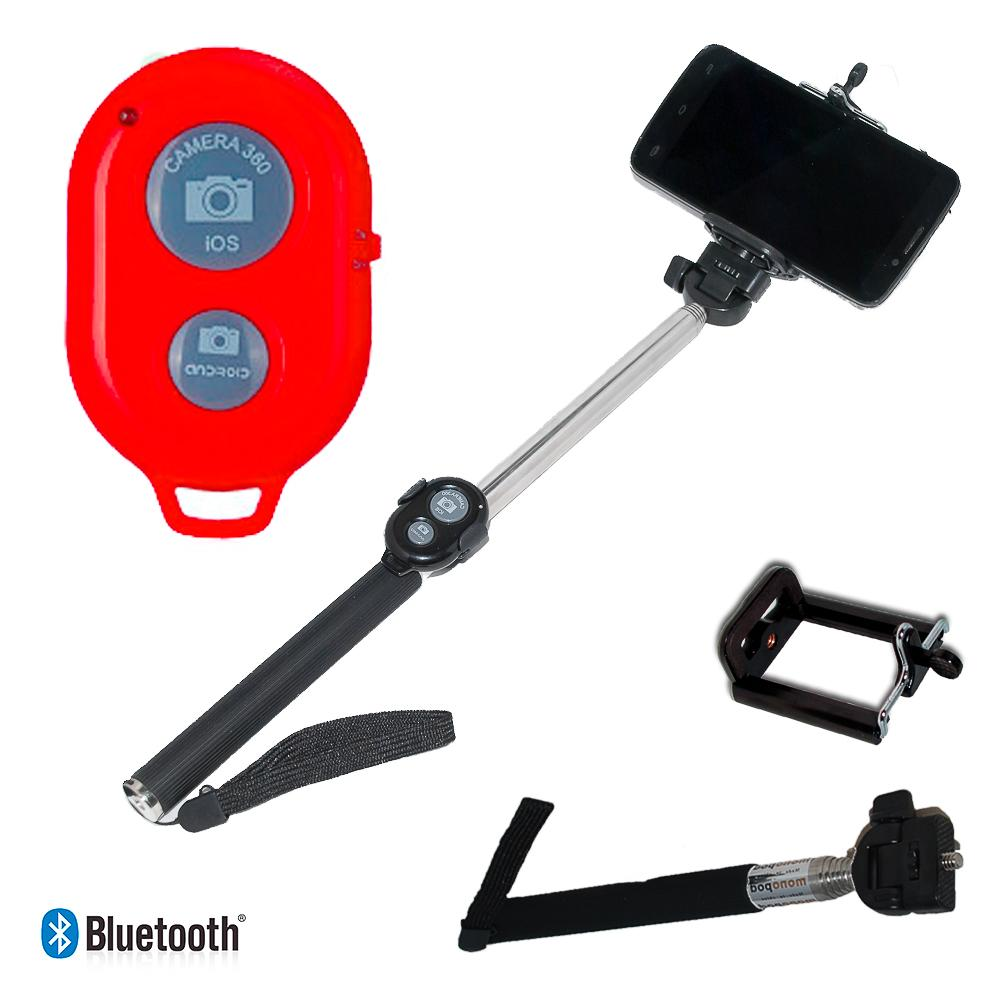 Action outdoor Extendable Selfie Stick Bluetooth