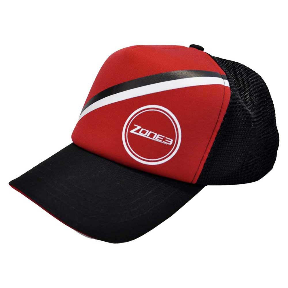 d8403abd7f4ed1 Zone3 Flat Peak Trucker Cap buy and offers on Swiminn