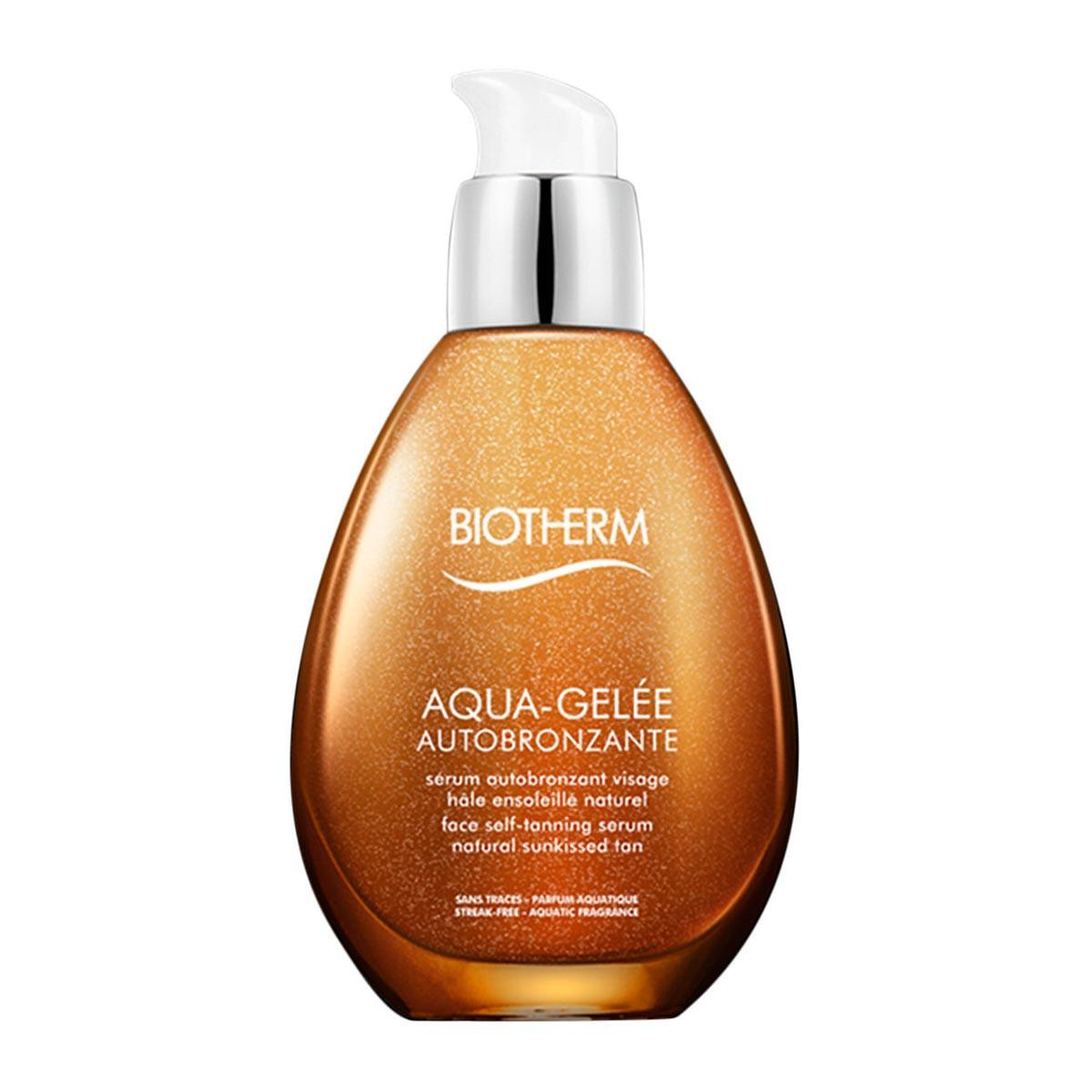 Cuidado de la piel Biotherm Aqua Gelee Autobronzant Serum Visage 50 Ml