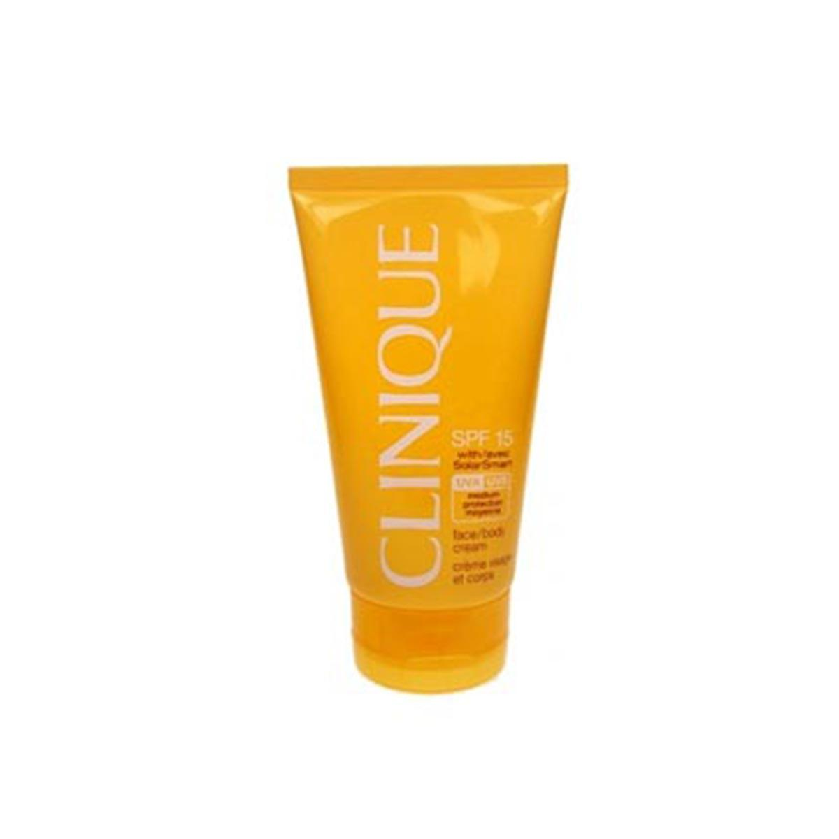 Clinique-fragrances Solar Face Body Cream Spf15 150ml