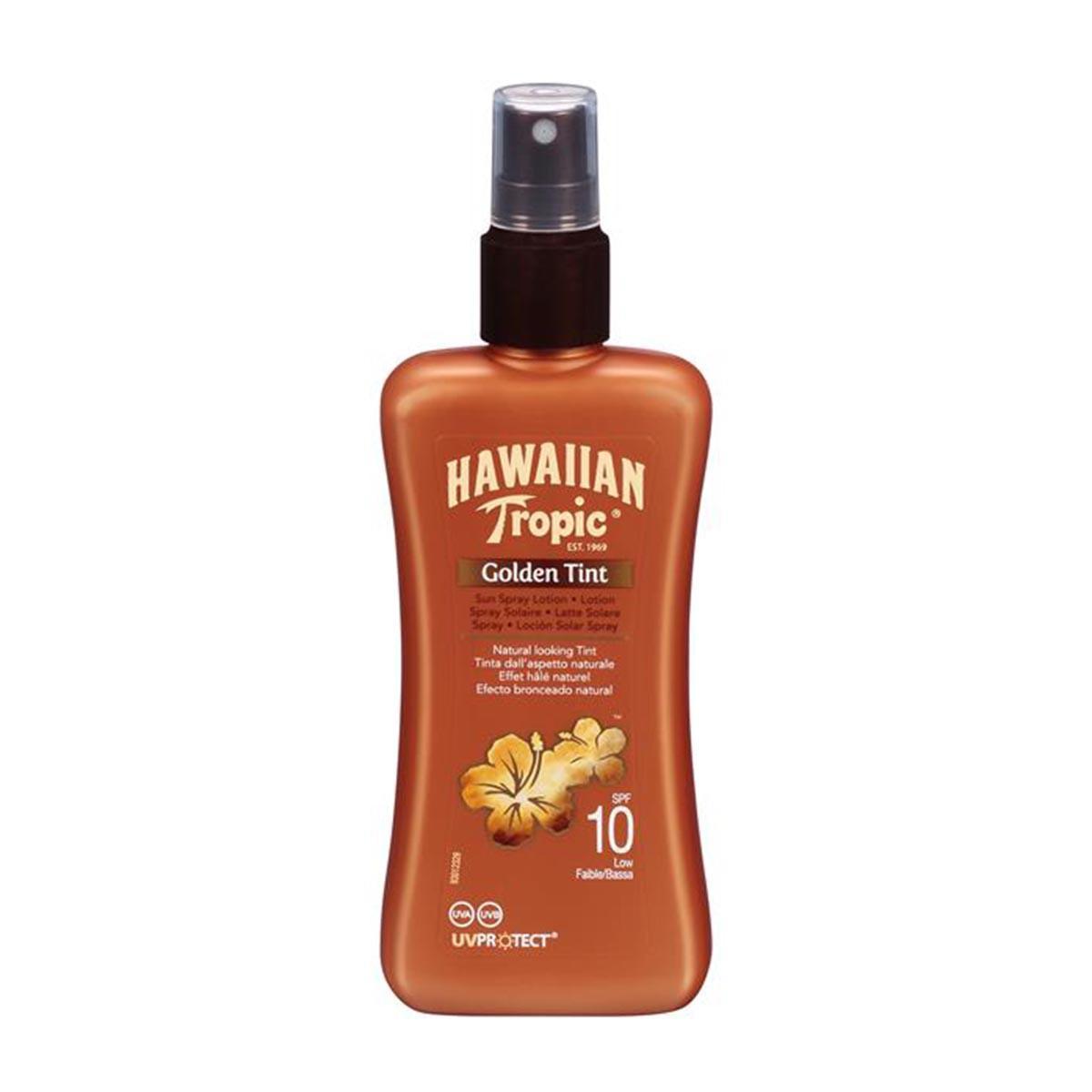 Cuidado de la piel Hawaiian-tropic Golden Tint