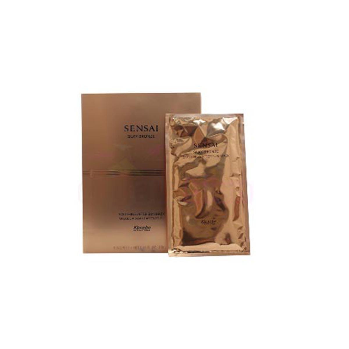 Kanebo-fragrances Sensai Silky Bronze After Sun Mask 8x27ml