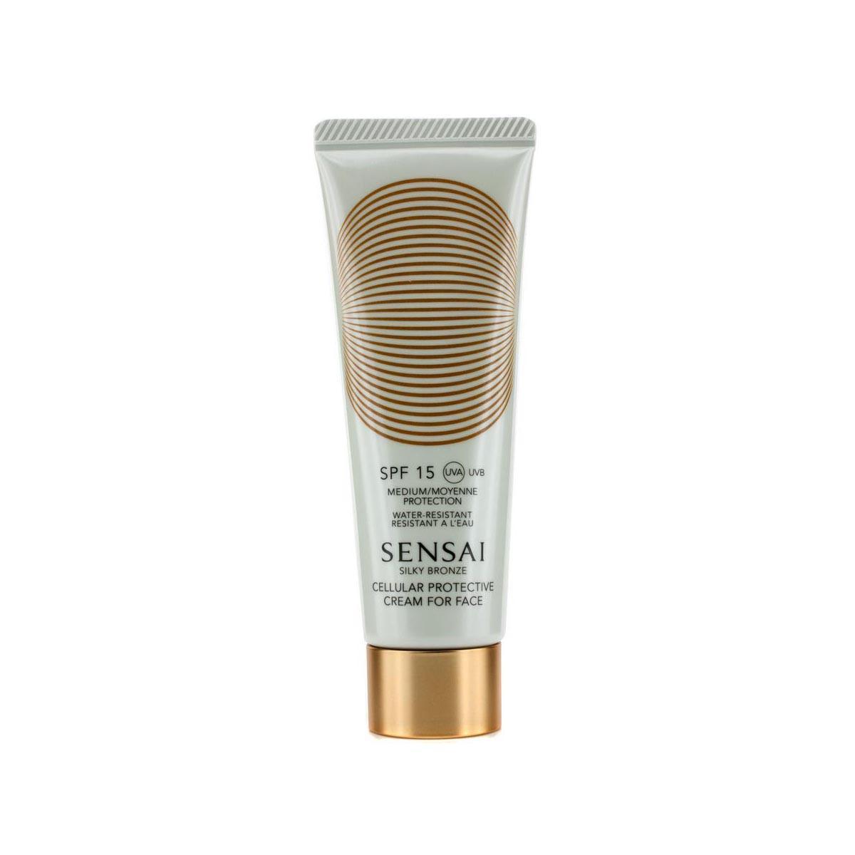 Kanebo-fragrances Sensai Silky Bronze Crema Rostro Spf15 50ml