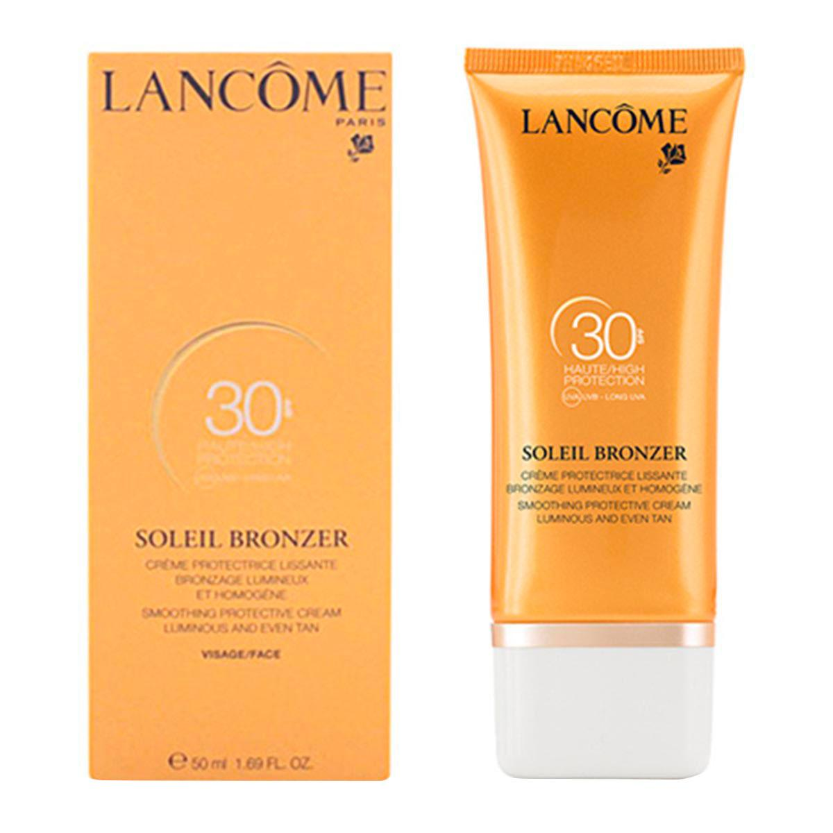 Lancome-fragrances Soleil Bronzer Spf30 Face Smoothing Protective Cream 50ml