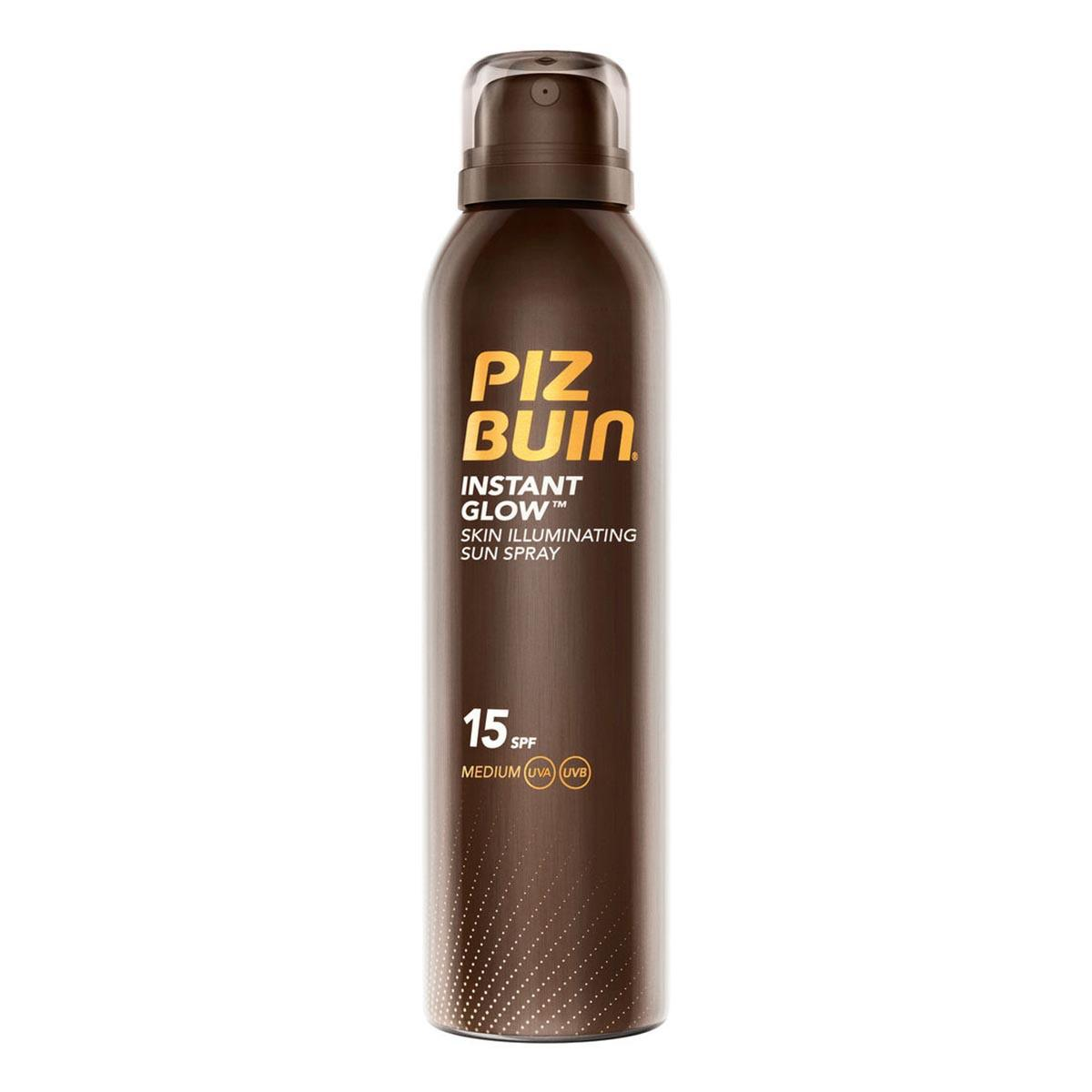 Piz-buin-fragrances Instant Glow Skin Illuminating Sun Spray Spf15 150ml