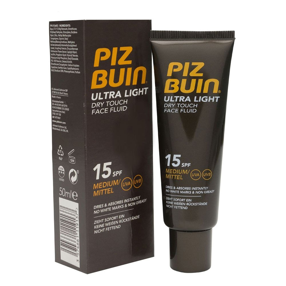 Piz-buin-fragrances Ultra Light Dry Touch Face Fluid Spf15 50ml