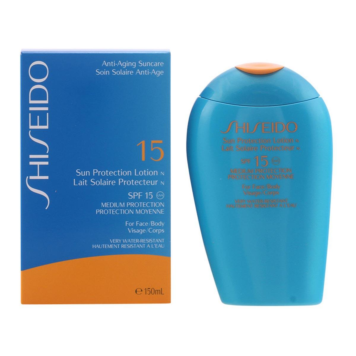 Shiseido Antiaging Suncare Sun Protection Spf15 Lotion 150ml