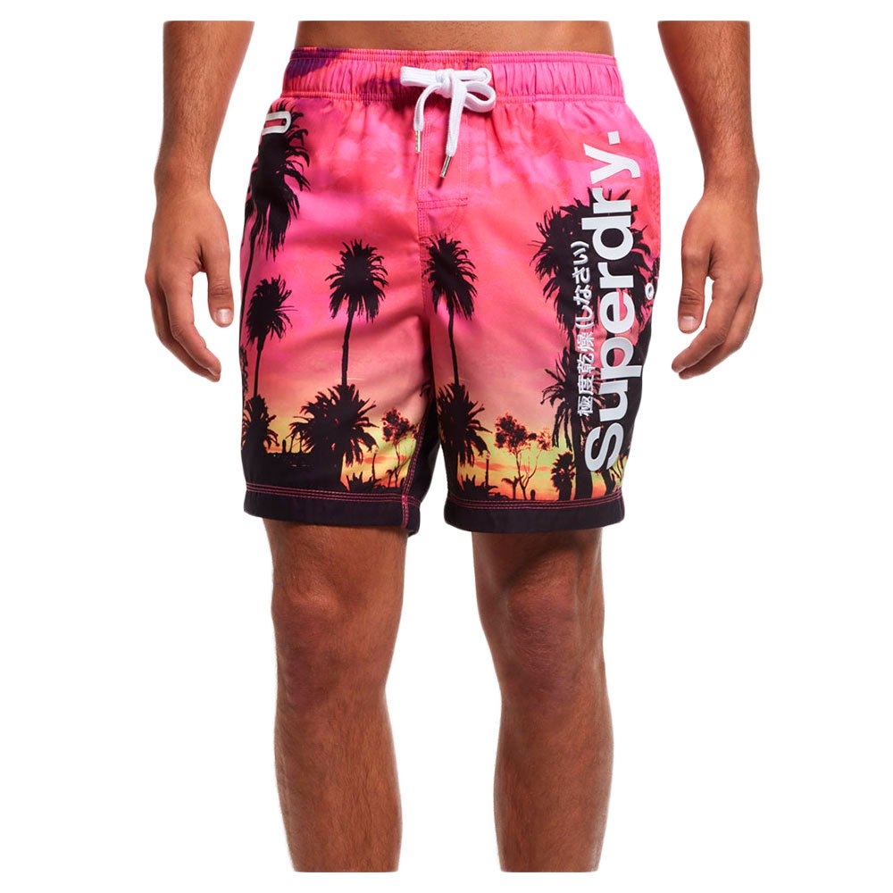 Superdry Premium Print Neo Swim Short