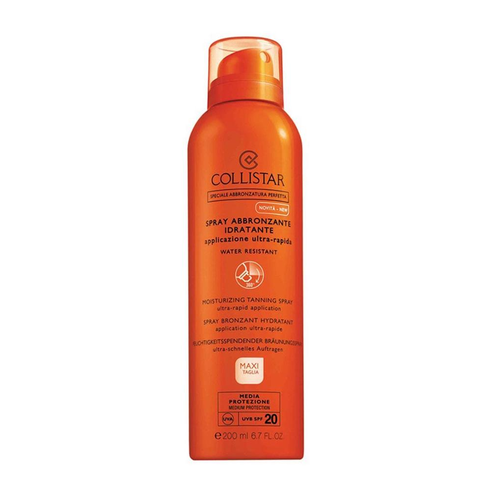 Consumo Collistar Special Perfect Tan Moisturizing Tanning Water Resistant Spf20 Spray 200ml