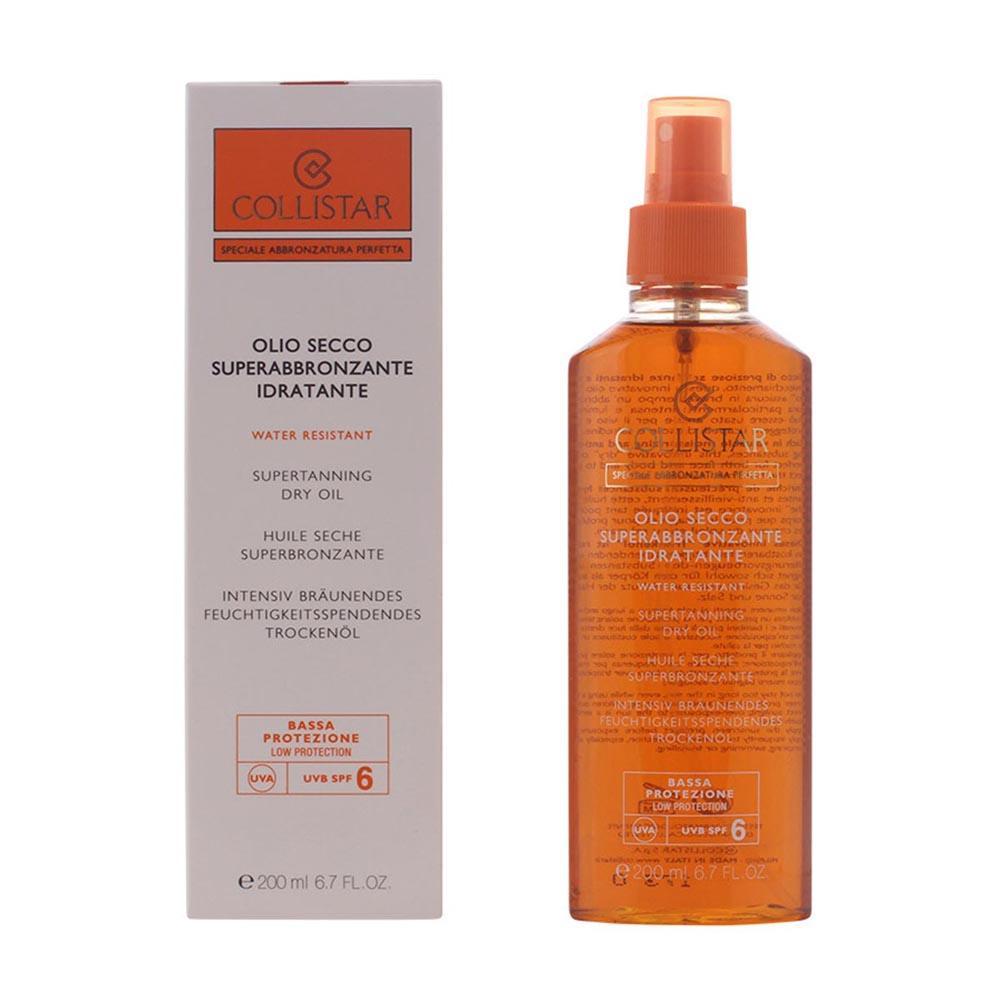 Consumo Collistar Special Perfect Tan Supertanning Moisturizing Dry Oil Spf6 200ml