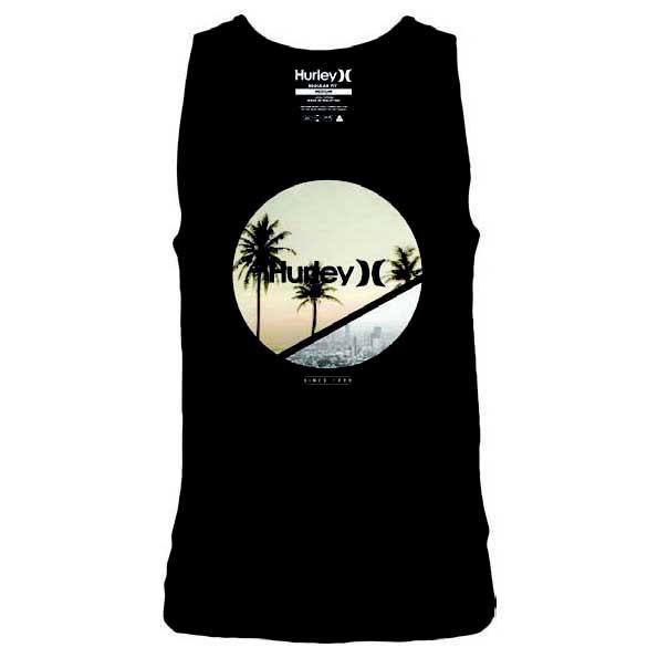 Hurley Crescent Photo Singlet