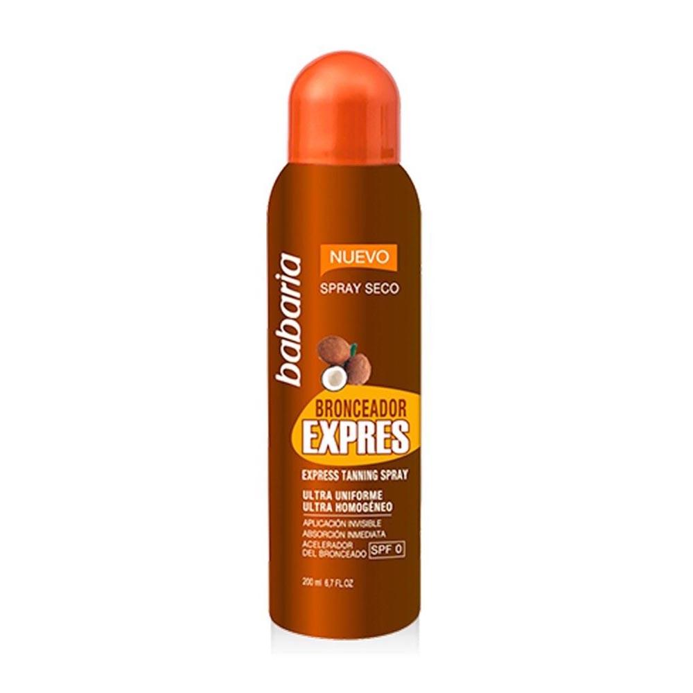 Babaria Babaria Bronceador Express Ultra Homogeneo Spray 200ml