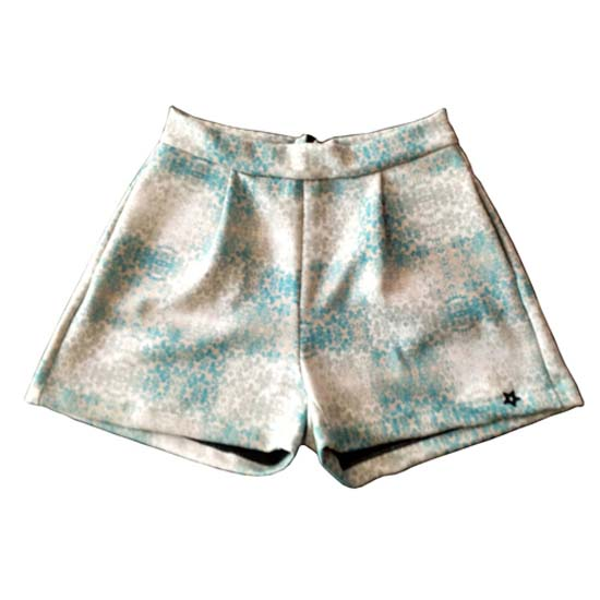 Wetsweets Shorts Green Denim