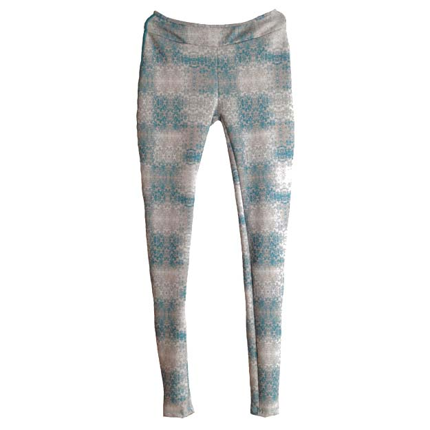 Wetsweets Leggings Green Denim