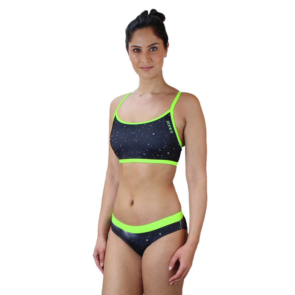 7ea5eaf177 Zone3 Two Piece Bikini Cosmic Green buy and offers on Swiminn